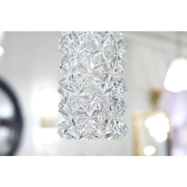 1960s 1960s Austrian Glass Pendants - a Pair For Sale - Image 5 of 7