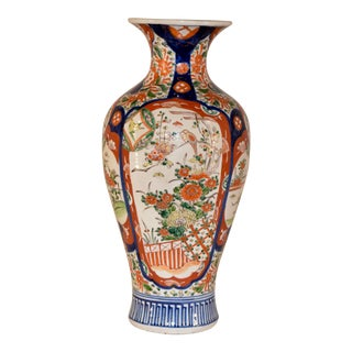 19th Century Large Imari Vase For Sale