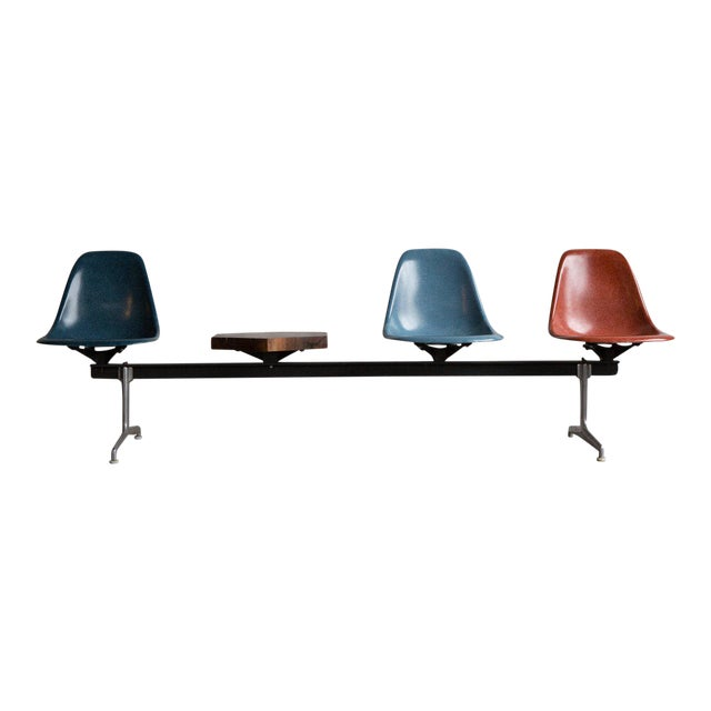 Custom Eames Airport Bench - Image 1 of 5