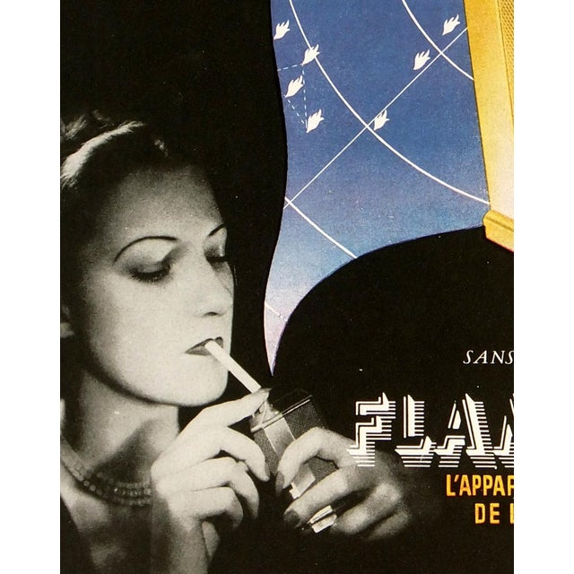 Vintage Poster Art - Flaminaire, C. 1930 - Image 2 of 3