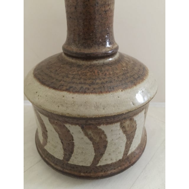 Boho Chic Danish Mid-Century Table Lamp For Sale - Image 3 of 4