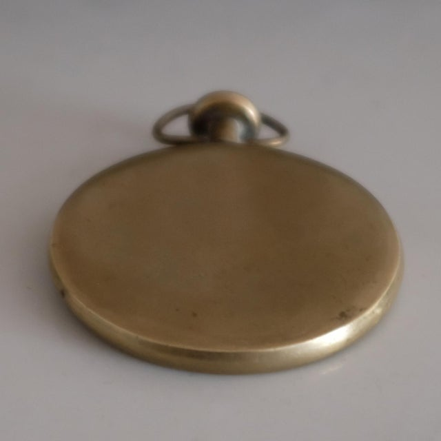 Mid-Century Modern Pocket Watch Paperweight by Carl Auböck For Sale - Image 3 of 5
