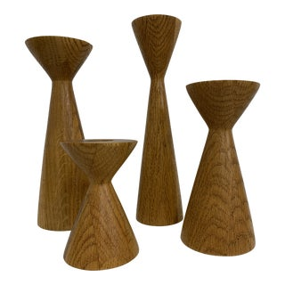 1960s Mid-Century Modern Candle Holders - Set of 4 For Sale