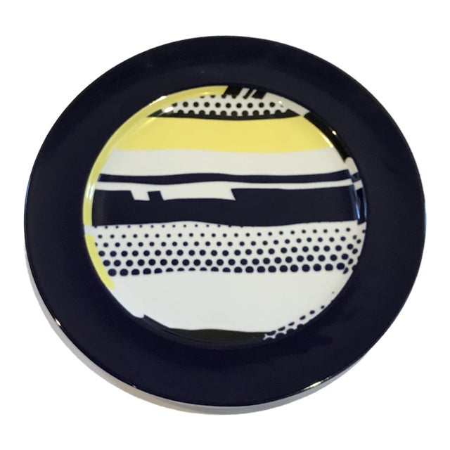 Roy Lichtenstein for Rosenthal Porcelain Limited Edition Wall Plate For Sale