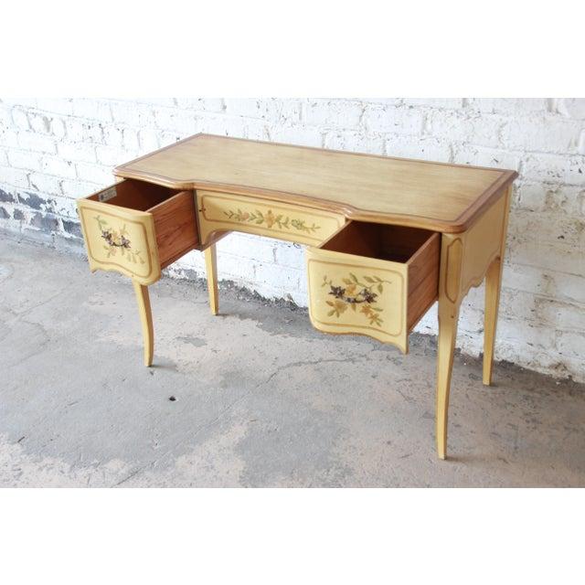 John Widdicomb John Widdicomb Vintage French Writing Desk For Sale - Image 4 of 12
