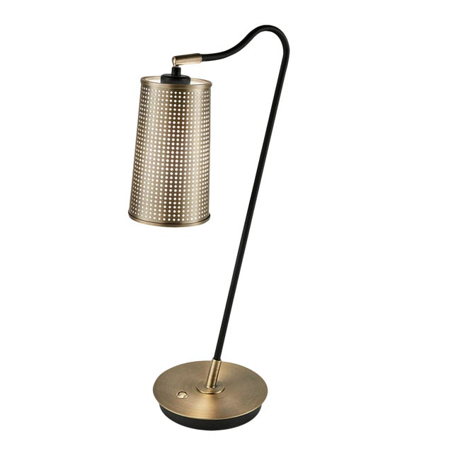 Roma Bronze Table Lamp For Sale