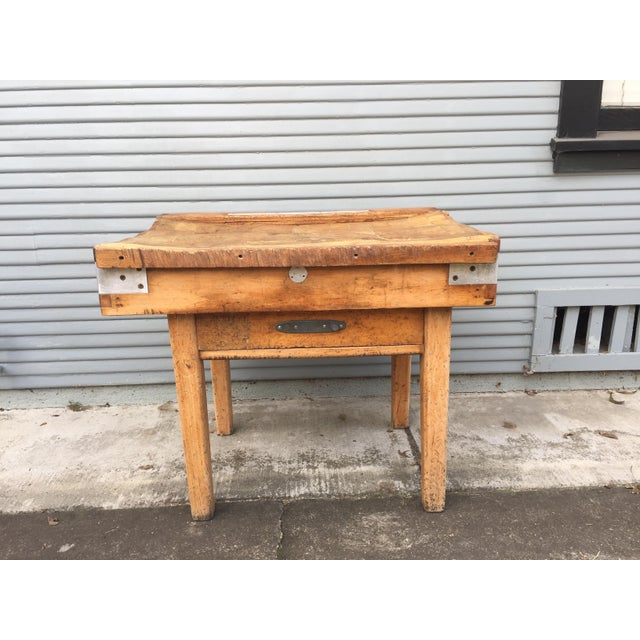 Antique French Butcher's Shop Block - Image 2 of 5