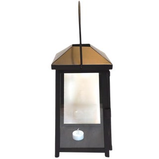 Black Metal Petaluma Lanterns-Set of 8 For Sale