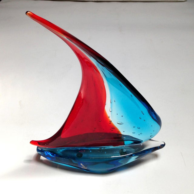 Figurative Sailboat Sculpture by Sergio Constantini For Sale - Image 3 of 5