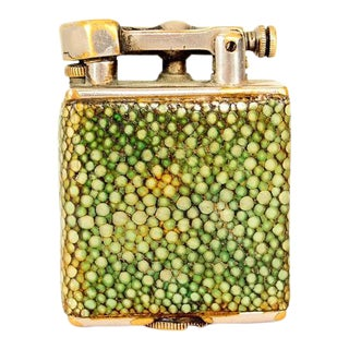 Parker Bacon 'The Efficient Lighter' After Dunhill Shagreen For Sale