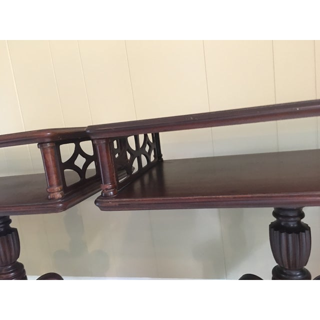 Imperial Federal Style Side Tables - A Pair For Sale - Image 4 of 12