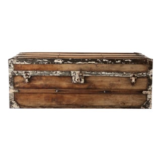 Antique Argentinian Low Trunk
