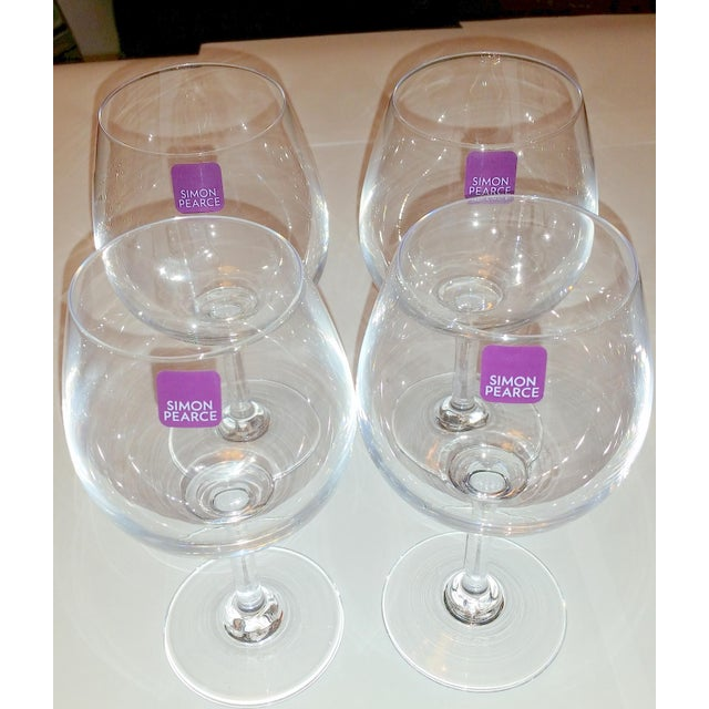 Simon Pearce Hampton Wine Glasses - Set of 4 - Image 4 of 12