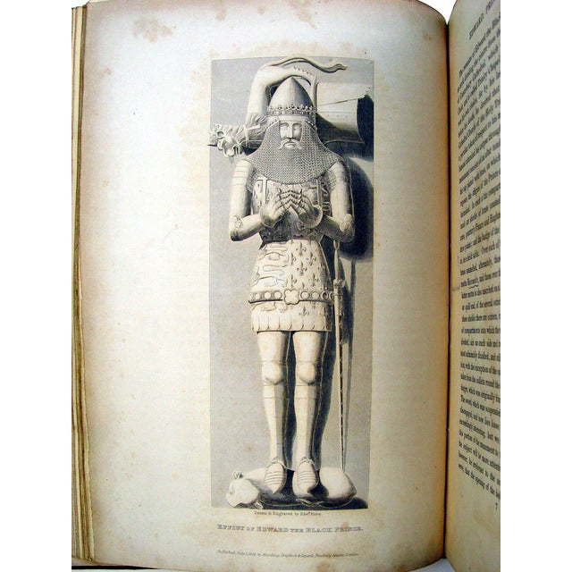 Monuments & Sepulchres of England Book, 1826 - Image 4 of 10
