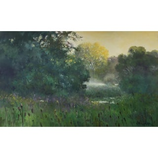 "Thomas McNickle ""September-Morning Tones"" Contemporary Traditional Landscape Oil Painting For Sale"