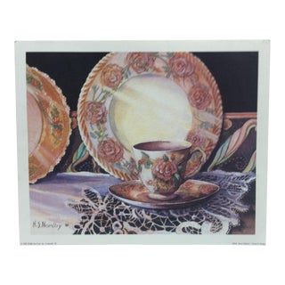 1990s Harriet S. Nordby Original Rose Collection Print For Sale