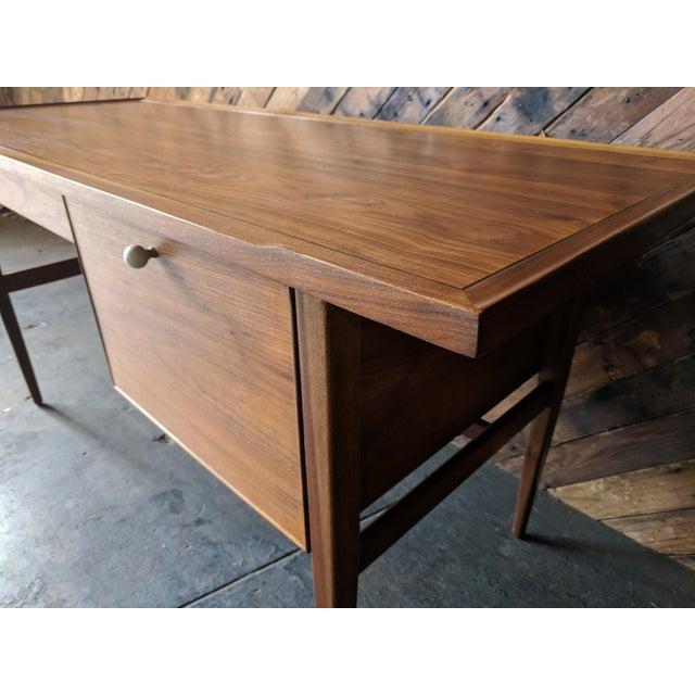 Kipp Stewart Mid Century Drexel Declaration Desk by Kipp Stewart For Sale - Image 4 of 11