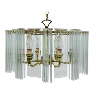 MCM Regency Style Glam Chandelier For Sale