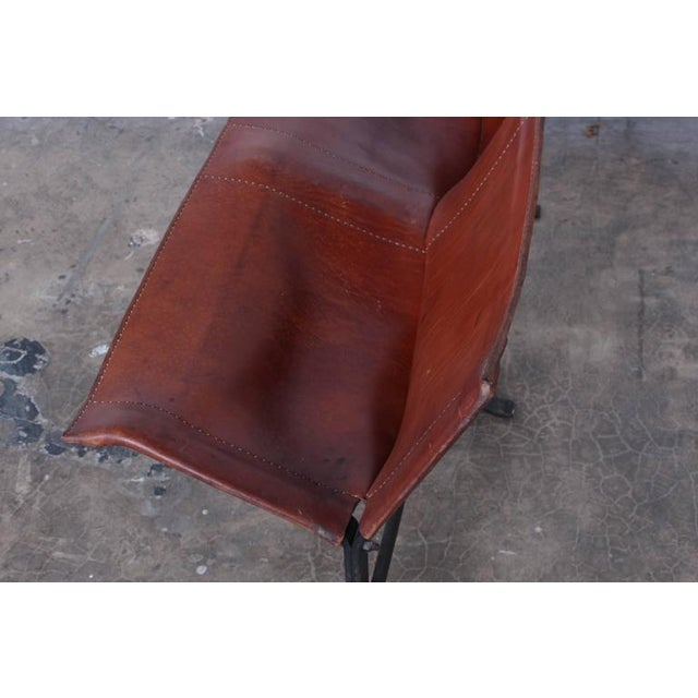 Leather Bench by Max Gottschalk For Sale - Image 10 of 10