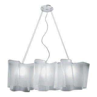Logico Blown Glass Suspension Light Chandelier For Sale