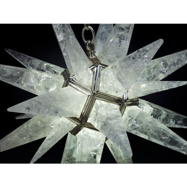 Rock Crystal Star Light For Sale In Boston - Image 6 of 10