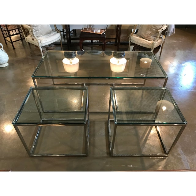 Mid-Century Modern Coffee Table & Side Tables - Set of 3 For Sale - Image 6 of 7
