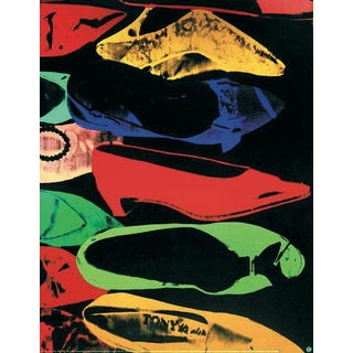 Andy Warhol-Shoes (Lg)-Poster For Sale