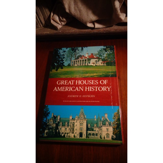 """Americana """"Great Houses of American History"""" Book by Andrew Hepburn For Sale - Image 3 of 3"""
