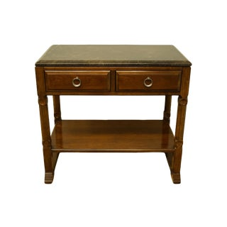 "Traditional Bernhardt Furniture 36"" Console Accent Table For Sale"