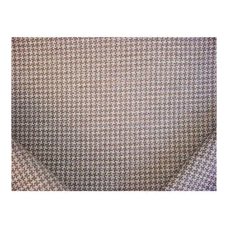 Southwestern Osborne Little Tabriz Soumak Houndstooth Chenille Upholstery Fabric - 3-7/8y For Sale