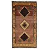 Image of 1970s Vintage Persian Qashqai Rug - 3'7'' X 6'7'' For Sale
