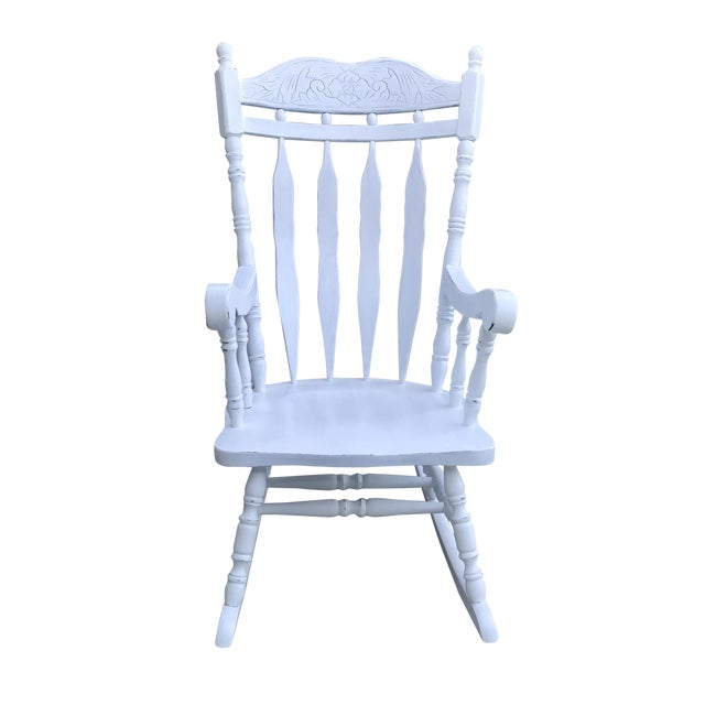 Shabby Chic Rocking Chair - Image 1 of 4