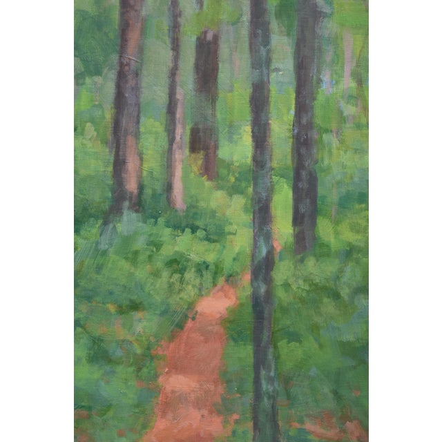 """Contemporary """"Back Yard Path"""", Contemporary Painting by Stephen Remick For Sale - Image 3 of 9"""