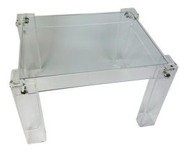 Image of Newly Made Lucite Side Tables