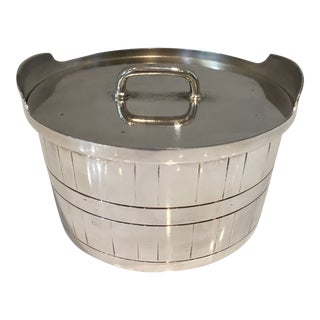 1950s Gorham Silver Butter Caddy and Lid For Sale