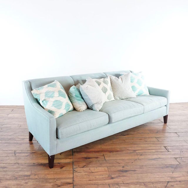 Modern Mitchell Gold + Bob Williams Upholstered Sofa For Sale - Image 3 of 10