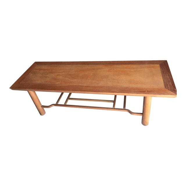 Heritage Henredon Mahogany Coffee Table For Sale