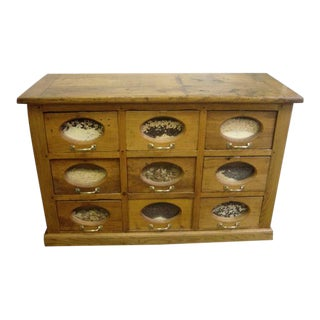 Antique French Apothecary Cabinet