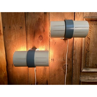 Mid 20th Century Postmodern Rotating Sconces - a Pair Preview