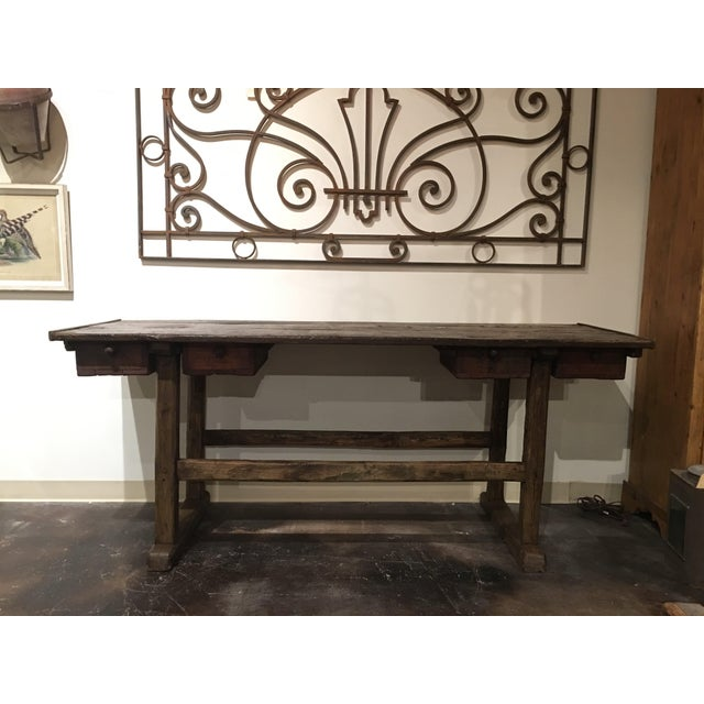 This fabulous antique French work table has so many unique characteristics! Each drawers is numbered 1 through...