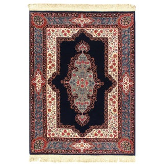 Pasargad Sino Kerman Design Hand-Knotted Rug - 5′ × 7′ For Sale