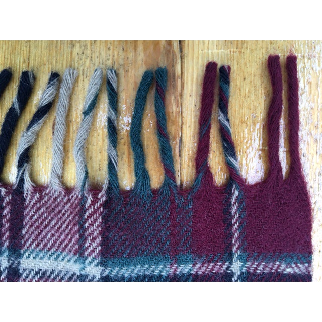 Vintage Faribault Plaid Pak a Robe Wool Blankets - Set of 5 - Image 5 of 8