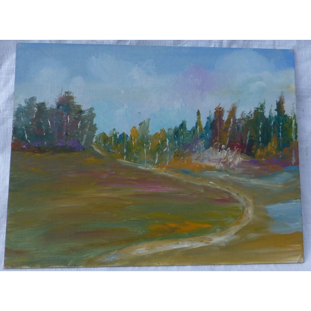 MCM Painting Autumn Path H.L. Musgrave - Image 2 of 6