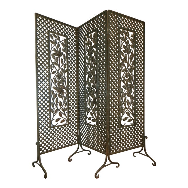 Antique French Deco Screen - Image 1 of 4