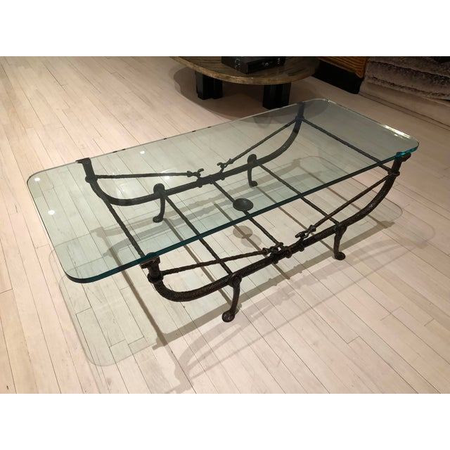 Giacometti Wrought Iron Coffee Table - Image 2 of 3