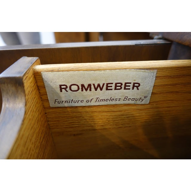 1940s Vintage Art Deco Credenza by RomWeber For Sale In Cleveland - Image 6 of 13