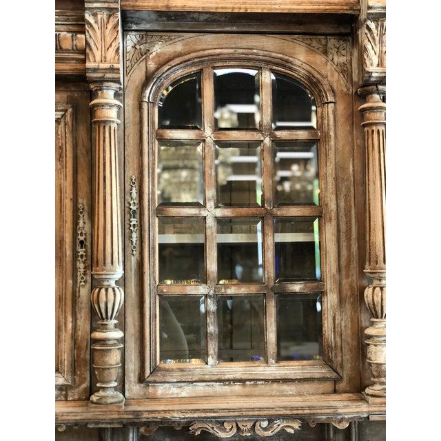 19th C. French Henri II Renaissance Revival Buffet & Hutch | Chairish