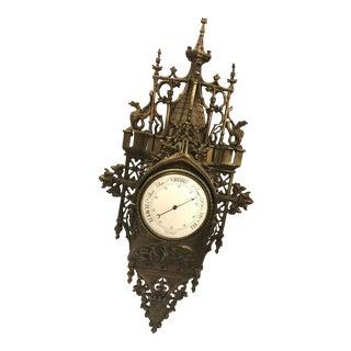 Vintage French Barometer
