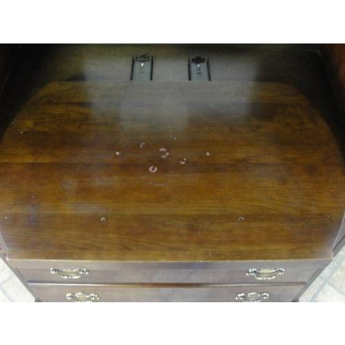Stickley Solid Cherry High Cabinet For Sale - Image 9 of 9