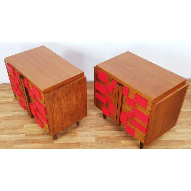 Paint 1960s Mid Century Modern Lane End Tables - a Pair For Sale - Image 7 of 13